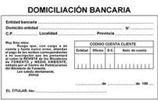 Domiciliación Bancaria